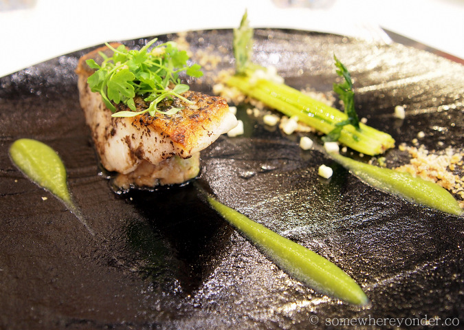 The fish course - Ametsa with Arzak Instruction, London