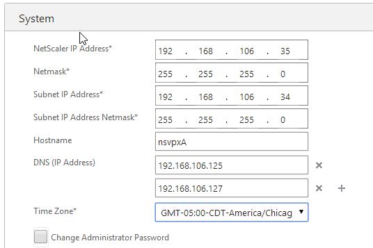brain floss: Citrix NetScaler VPX Express installation