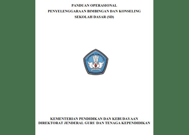 Panduan Operasional Penyelenggaraan BK (Bimbingan dan Konseling) untuk SD MI