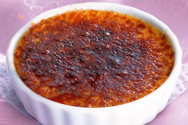 Crème Brûlée Au Miel