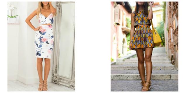 Motywy KWIATOWE i GEOMETRYCZNE modne na wiosnę
