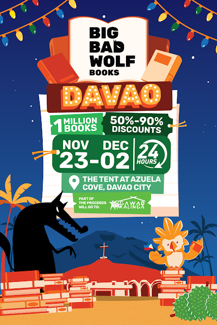 Clea Banal: Big Bad Wolf Book Sale in Davao