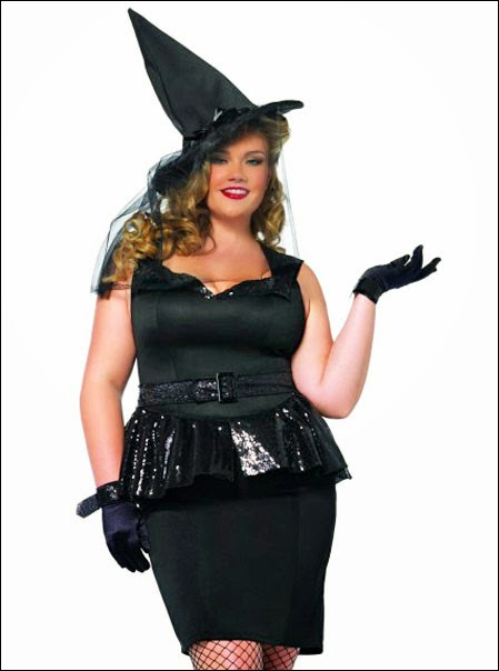 bc2ec69b098 Brand new! Vintage pinup witch costume in plus size!