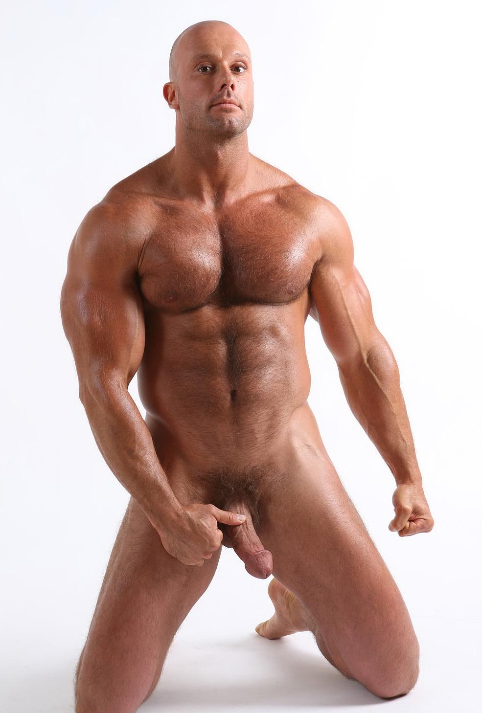 naked male legs spread