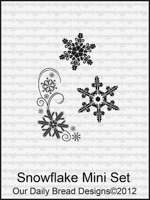 Our Daily Bread Designs Snowflake Mini Set