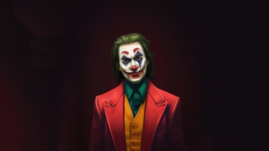 Joker, Movie, Joaquin Phoenix, Art, 4K, #7.138
