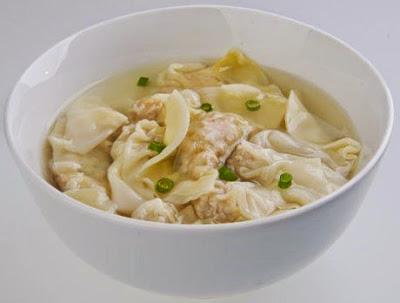 receta sopa wantan de pollo