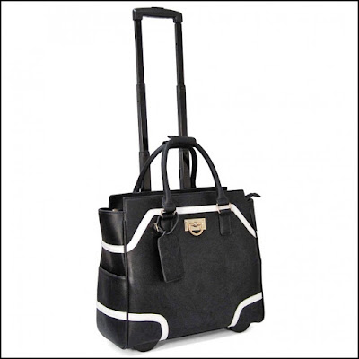 Women's Rolling Laptop Bag