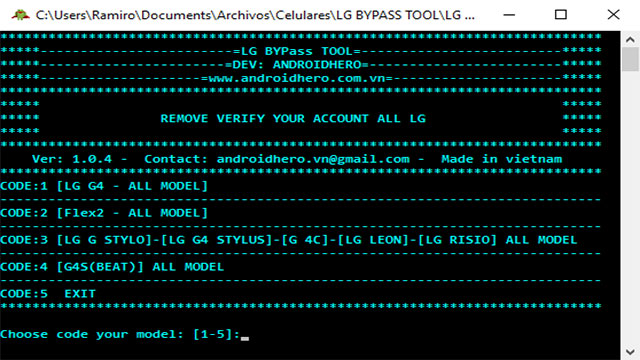 download LG Bypass Tool Ver 1.0.4