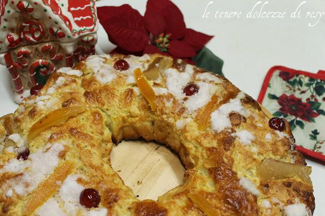 Dolci Di Natale Spagnoli.Le Tenere Dolcezze Di Resy Il Roscon De Reyes Il Dolce