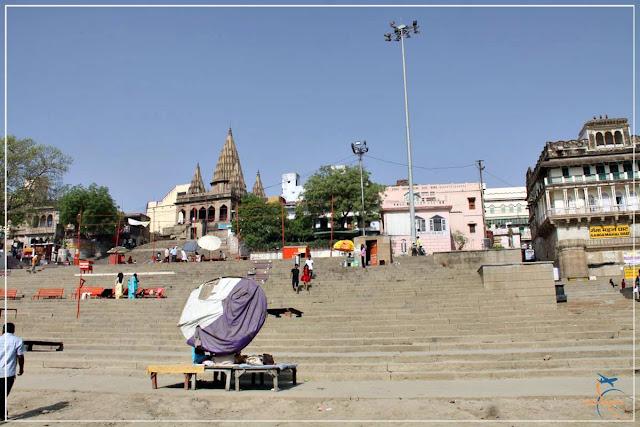 Assi Ghat, o mais belo dos Ghats de Varanasi!