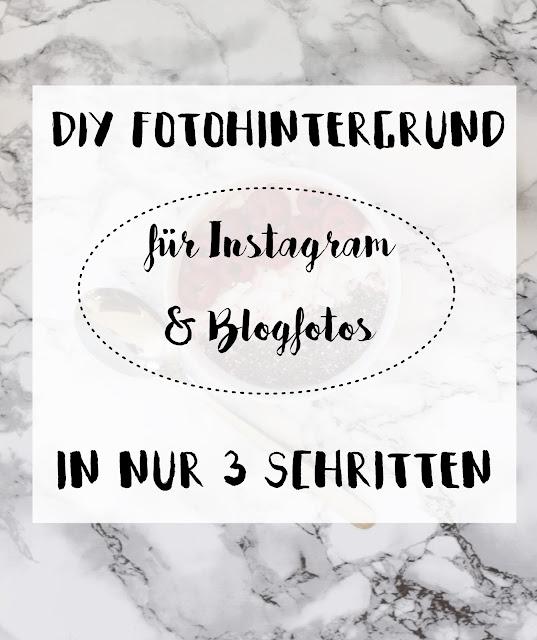 Einfaches DIY: In 3 Schritten zum selbstgemachten Fotohintergrund in Marmor oder Holzopitk für Instagram- und Blogfotos