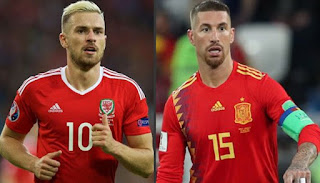 نتيجه مشاهده مباراه اسبانيا وويلز اليوم 11-10-2018 انتهت بفوز اسبانيا بنتيجه 4 - 1