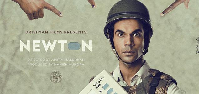 Newton 2017 movie poster