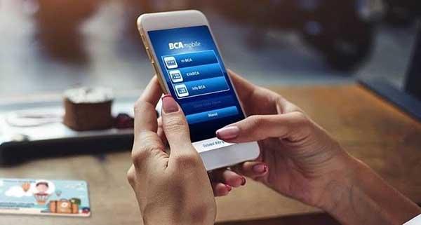 Login BCA Mobile Dengan Rekening Berbeda