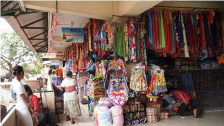 Pasar Kumbasari di Bali