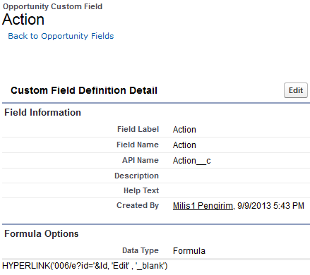 SimplySfdc com: Edit Data in Salesforce Report
