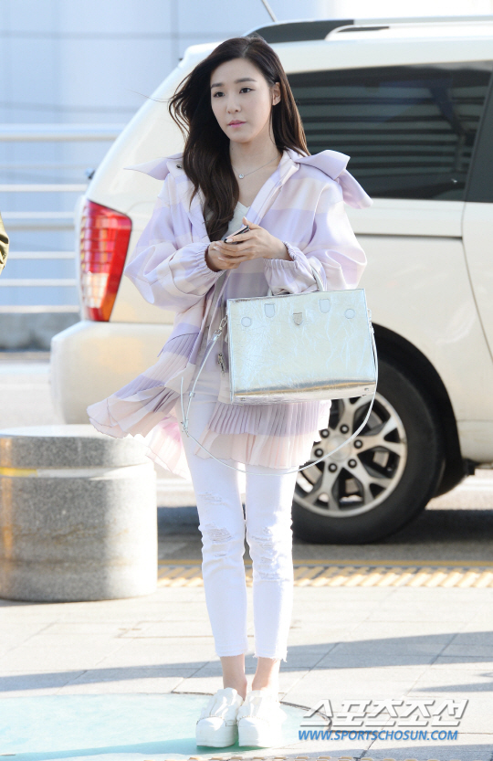 SNSD's Tiffany is on her way to Bangkok, Thailand ...