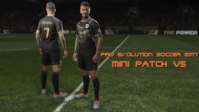 PES 2017 Mini Patch v5 Season 2018/2019