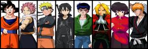 Povești și personaje din animeuri