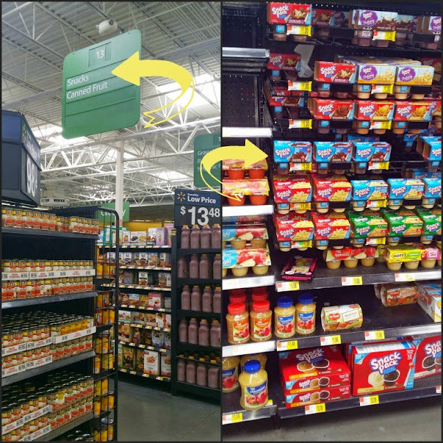 Snack Pack at Walmart #ad