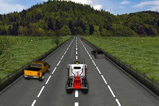 لعبة سباق الشاحنة الأمريكية