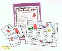 The Snowy Day Take Home Book Pack, www.JustTeachy.com