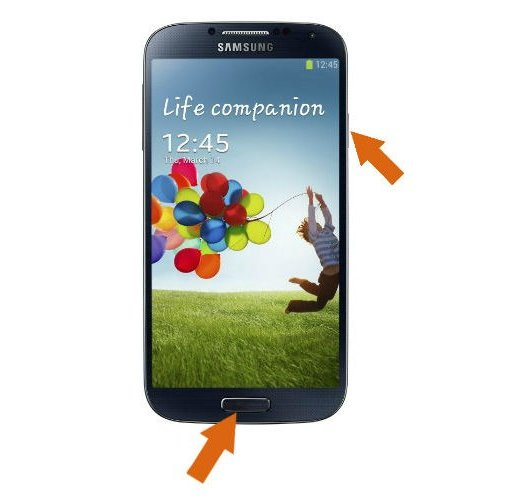 How to take screenshots on Galaxy S4