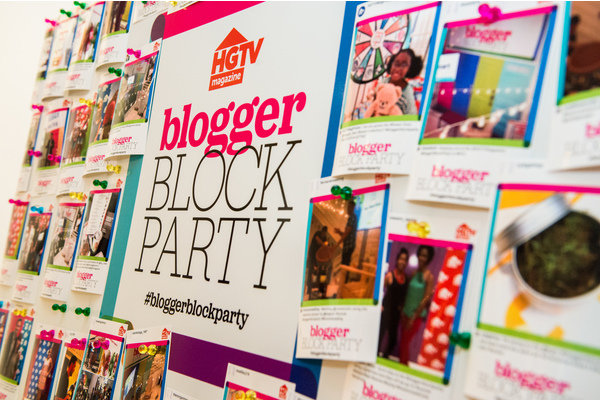 HGTV-Magazine's 5th Annual-Block-Party-Event-- an all-day social-Block-Party -influencers-decor- lifestyle-bloggers-justina-liketoknowit-the-everygirl