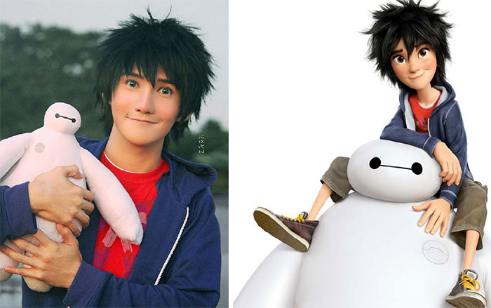 #9 This Person Looks Like Hiro Hamada From Big Hero 6 - 10 Real Life Disney Characters