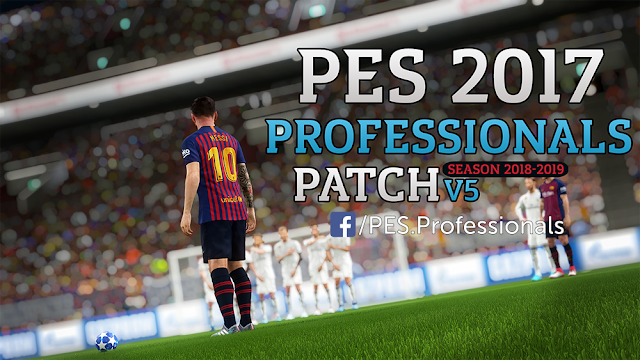 PES 2017 Professionals Patch V5 AIO
