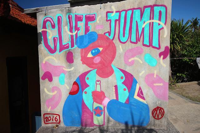 Cliff Jump à Nusa Lembongan