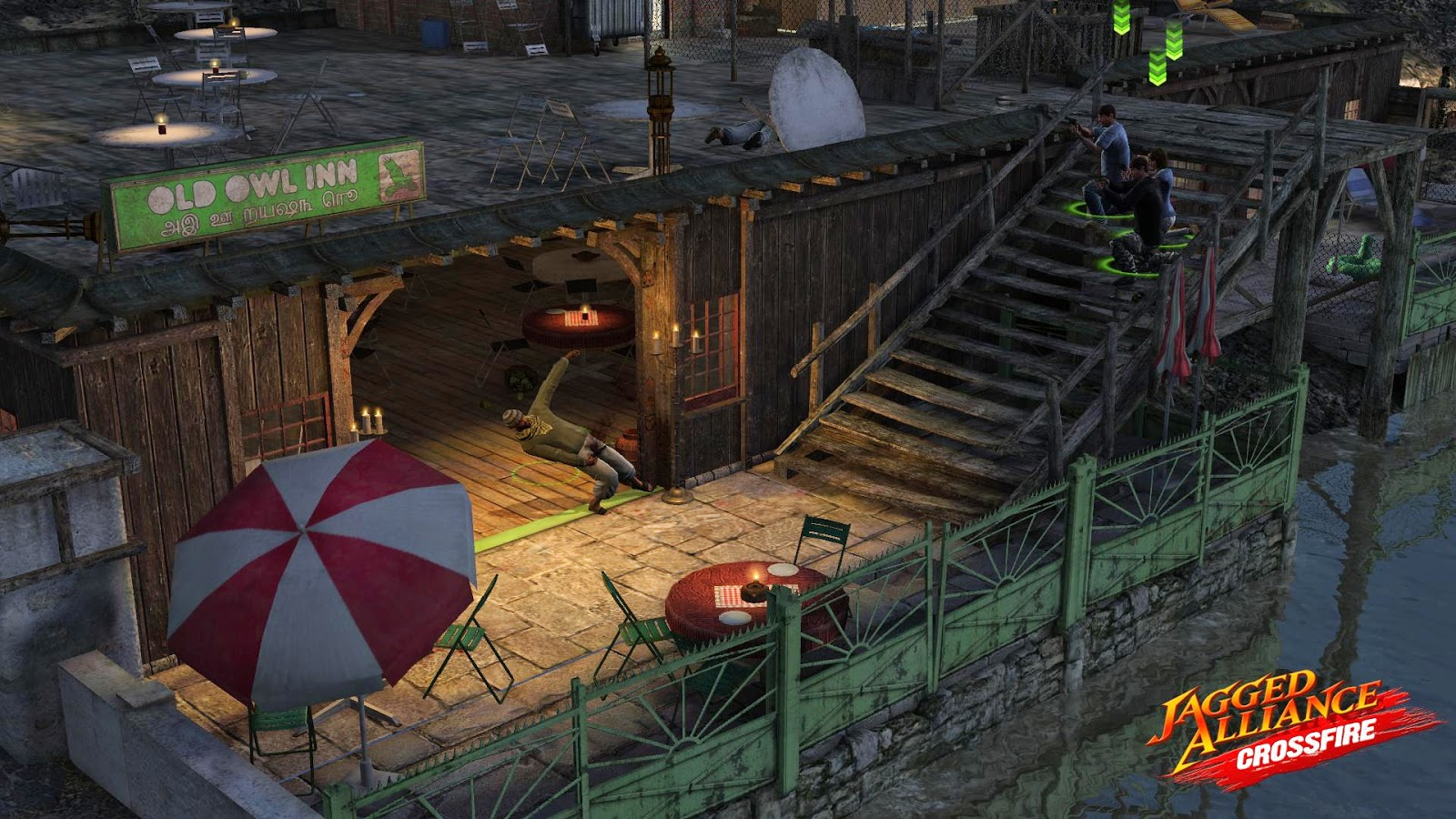 Jagged Alliance CrossFire Game ScreenShots:-