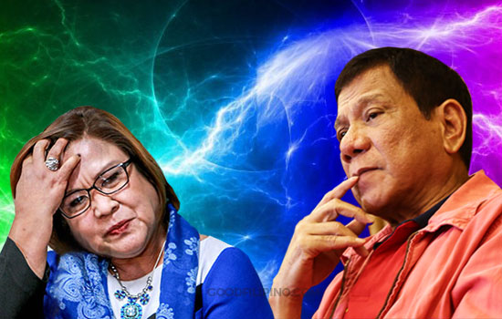 Deal with smugglers in your home instead of imaginary drug lords, De Lima tells Duterte
