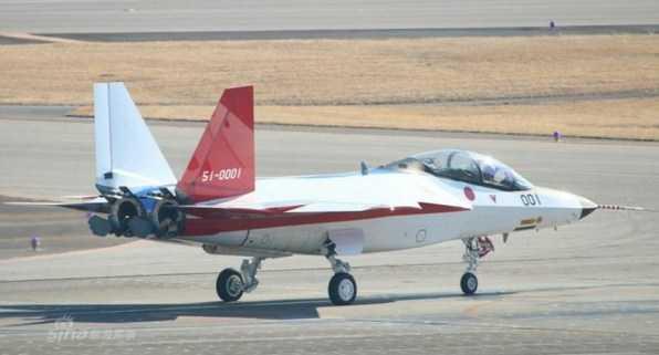 Jepang Lakukan Uji Terbang Pertama Untuk Pesawat Tempur Siluman X-2 Shinshin
