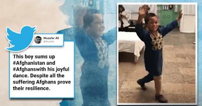 Afghan boy dancing in joy after getting prosthetic leg goes viral