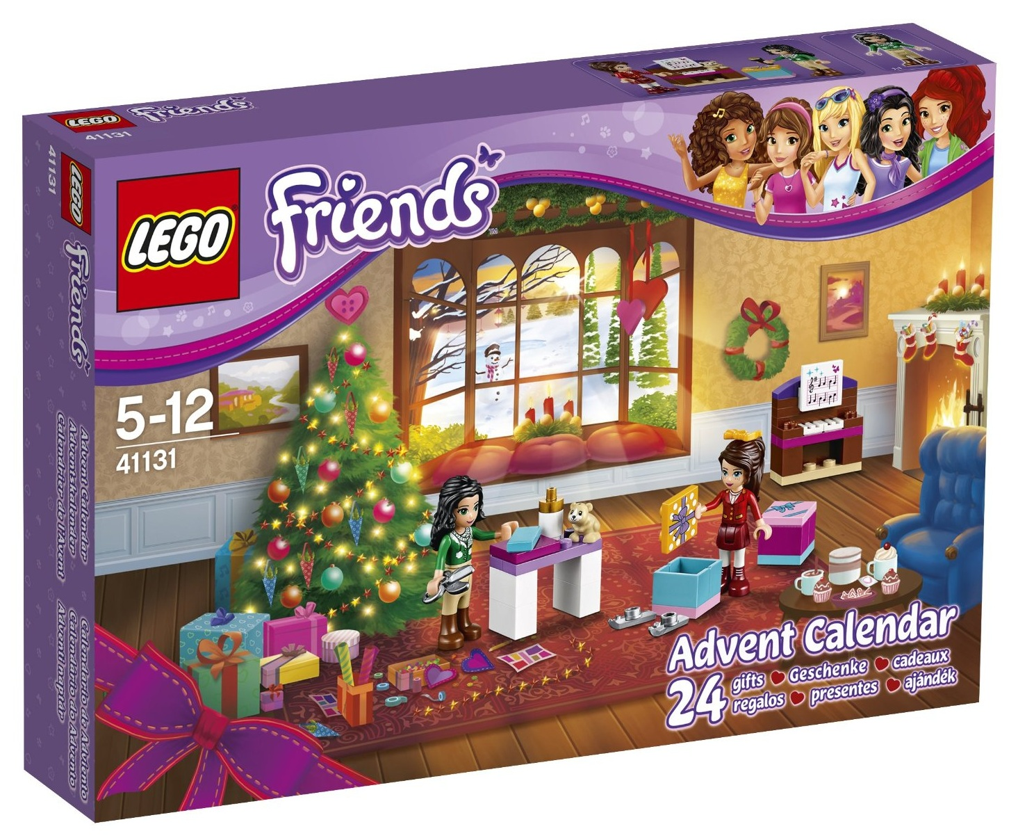 heartlake times lego friends advent calendar 2016. Black Bedroom Furniture Sets. Home Design Ideas
