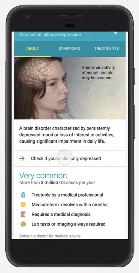Google's Latest Search Feature is Here to Help People With Depression