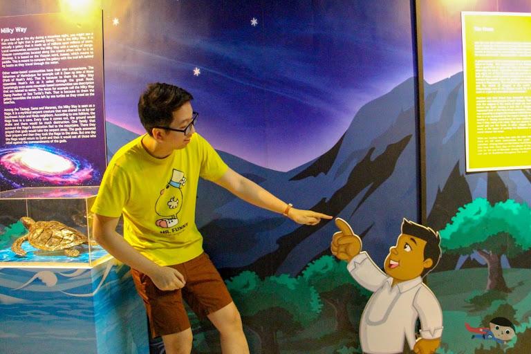 Renz Cheng in National Planetarium