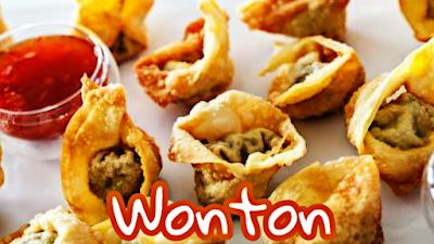 Wonton-Pangsit goreng