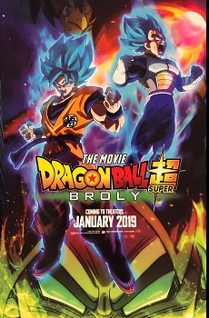 Dragon Ball Super Broly Torrent BluRay 720p / 1080p Legendado / Dublado  (2019)