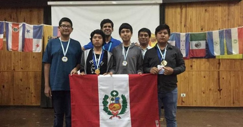 Perú logra primer lugar en Olimpiada Internacional de Matemática realizado en Argentina