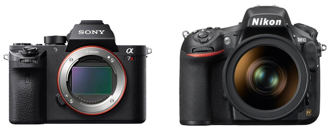 Sony A7R II и Nikon D810