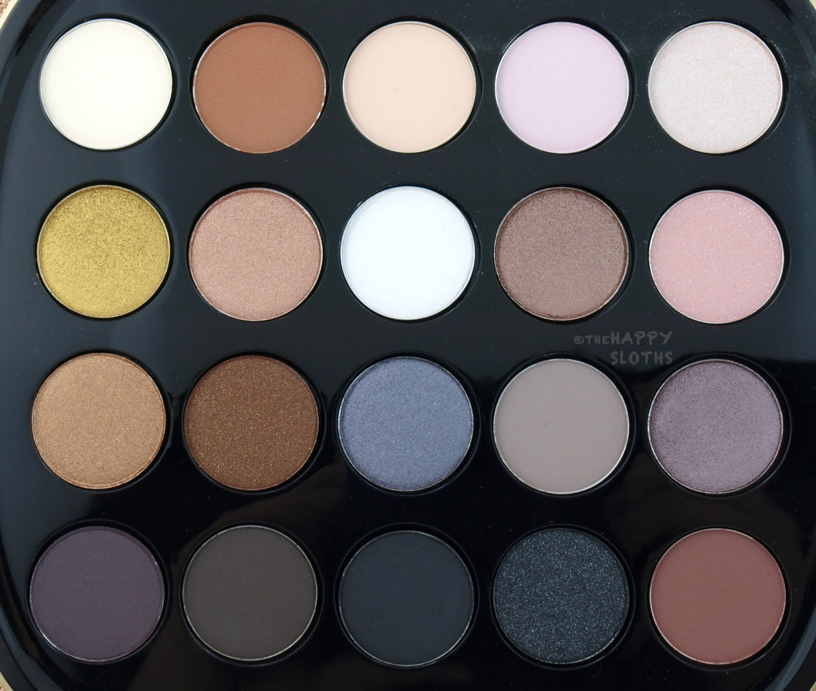 Marc Jacobs About Last Night Style Eye Con No 20 Eyeshadow Palette: Review and Swatches
