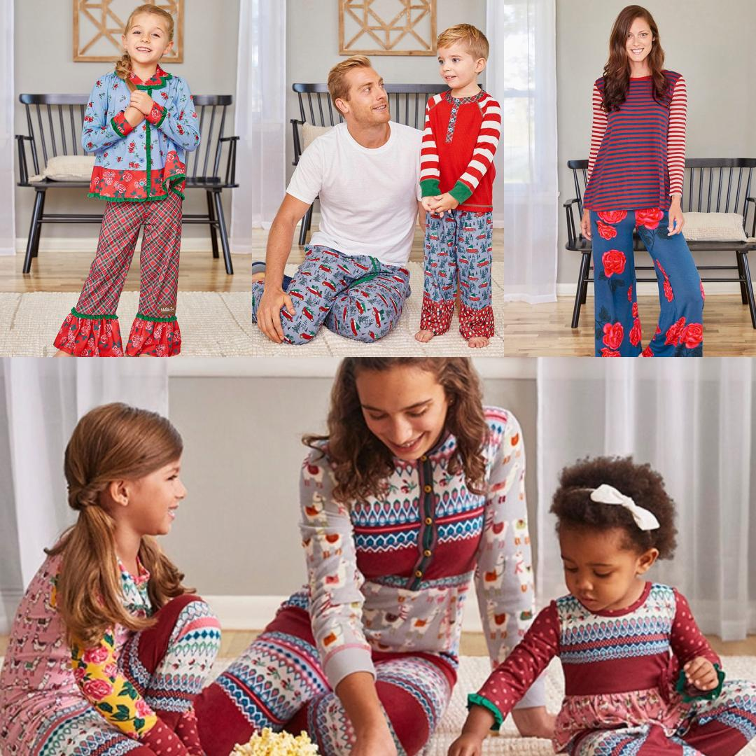 Matilda Jane Christmas 2020 Holiday Pajama's with Matilda Jane Clothing   For the Love of Matching