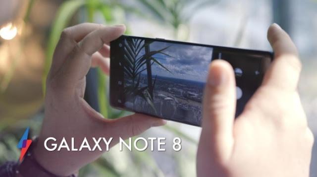 Harga HP Samsung Galaxy Note 8 Tahun 2017 Lengkap Dengan Spesifikasi dan Review, RAM 6 GB, Android Nougat, Kamera Dual 12 MP