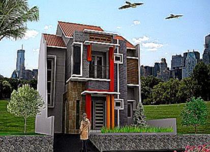 desain rumah minimalis 2 lantai type 45 | design rumah