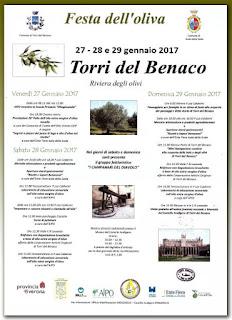 Festa dell'oliva 27-28-29 gennaio Torri del Benaco 2017