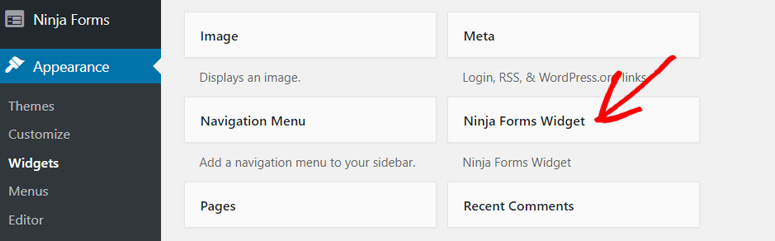 ninja-bentuk-widget