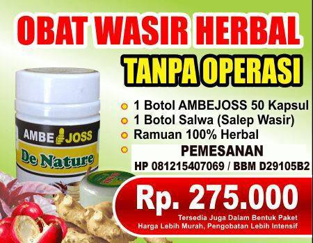 Obat Wasir Herbal Paling Ampuh